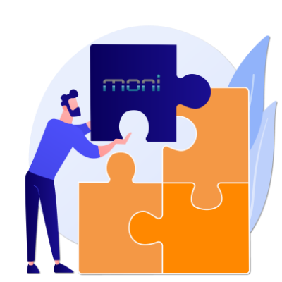 Integração com o software de monitoramento Moni
