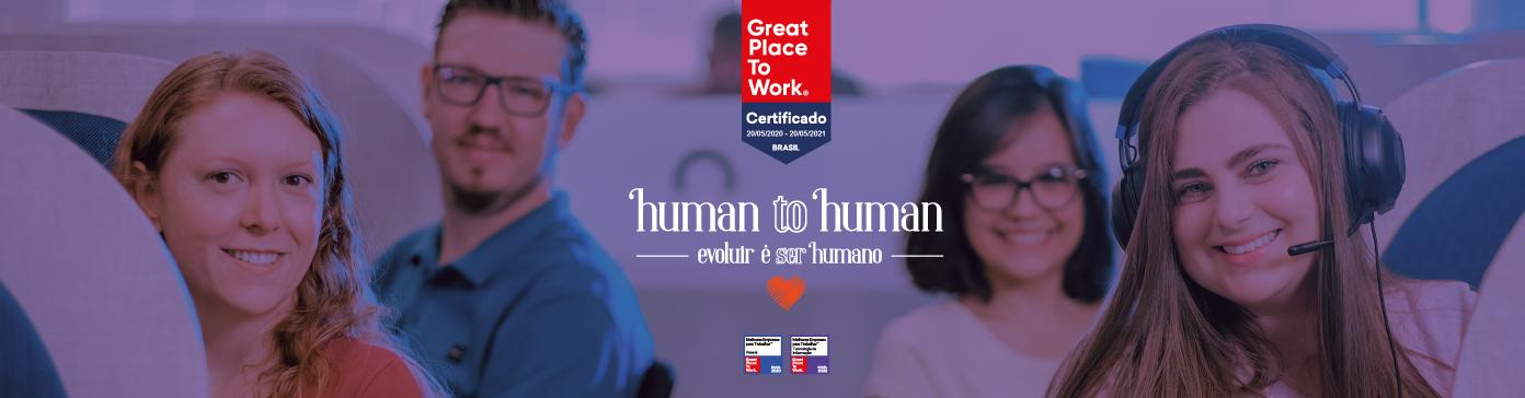 Manifesto da marca | Human to Human, evoluir é ser humano